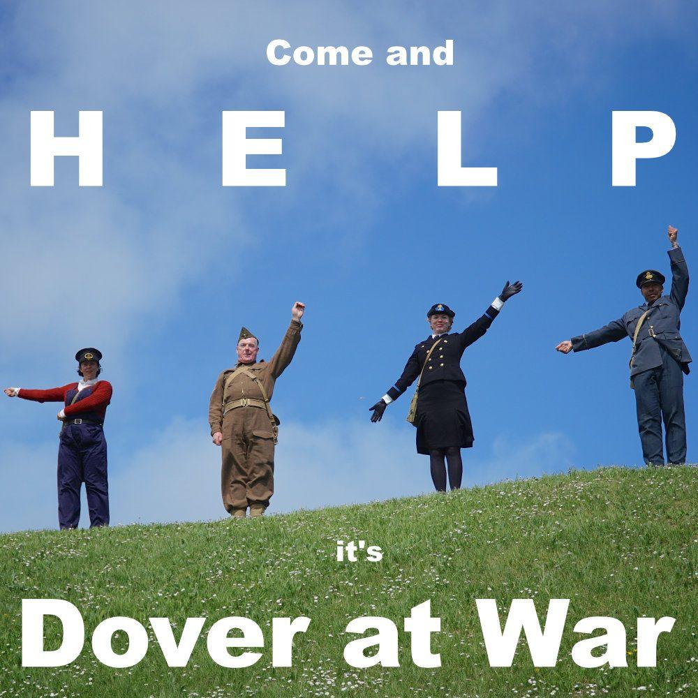 Dover Half Term June 2021 Help Dover at War poster
